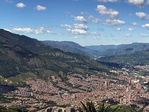 Back Again, in Medellin